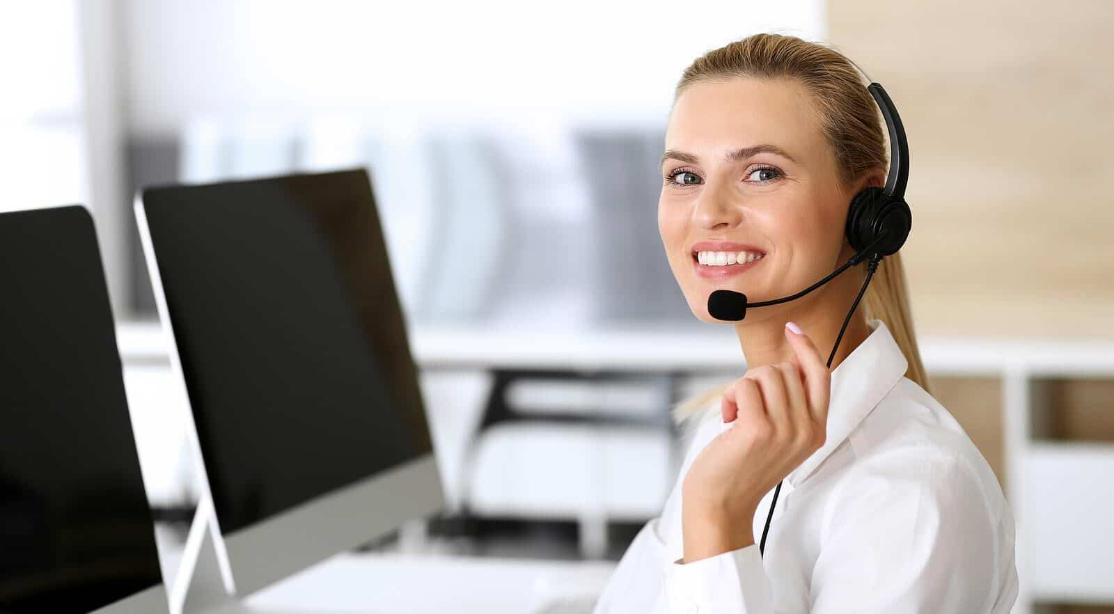 picture of customer service representative - contact ADS Solutions