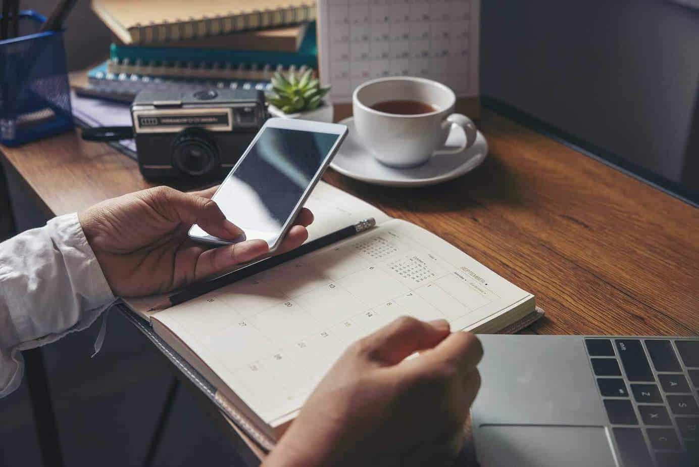 create calendar tasks for followup