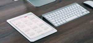 keyboard and calendar; crm software for distributors