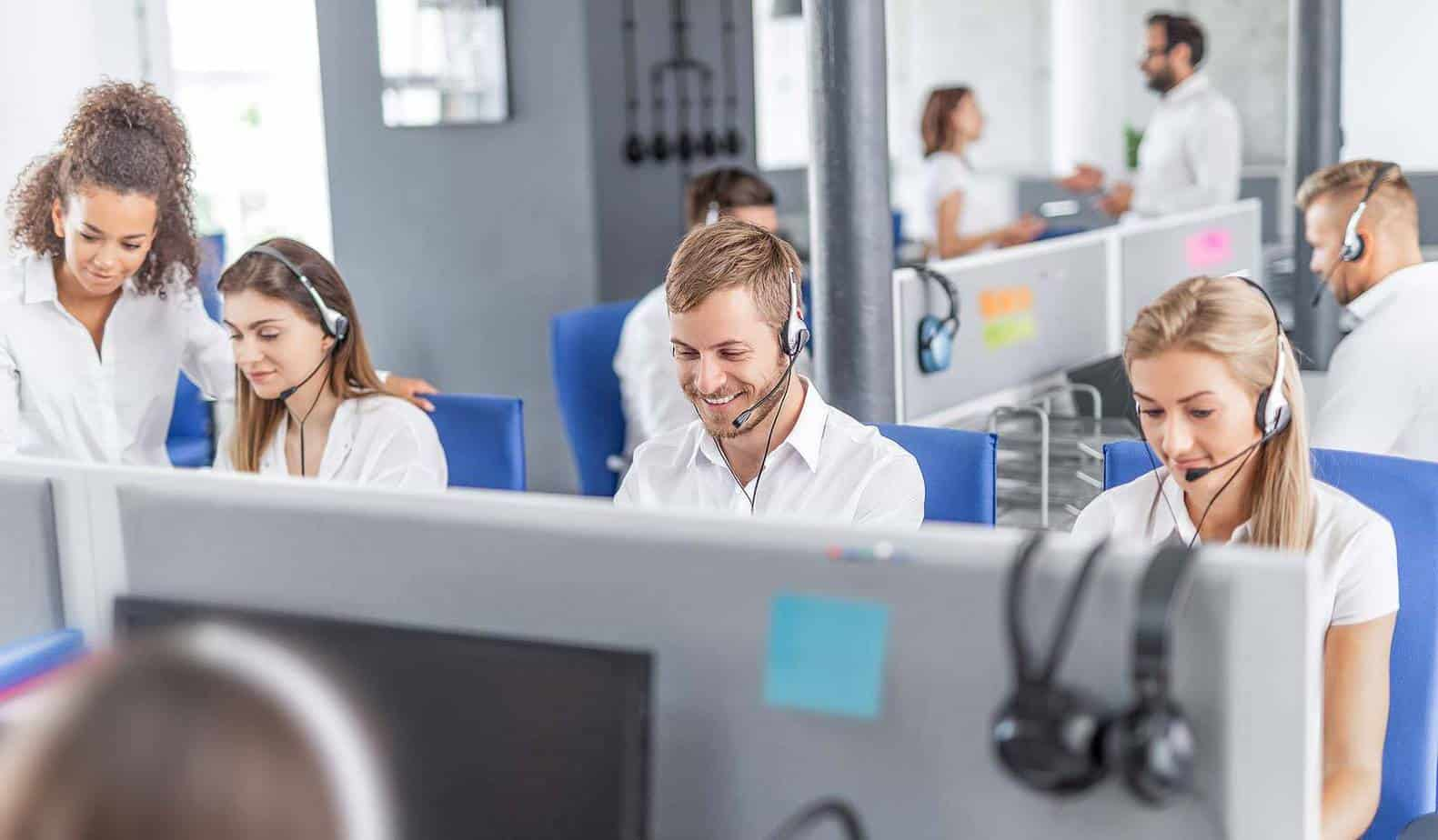 Image of Customer Support Center