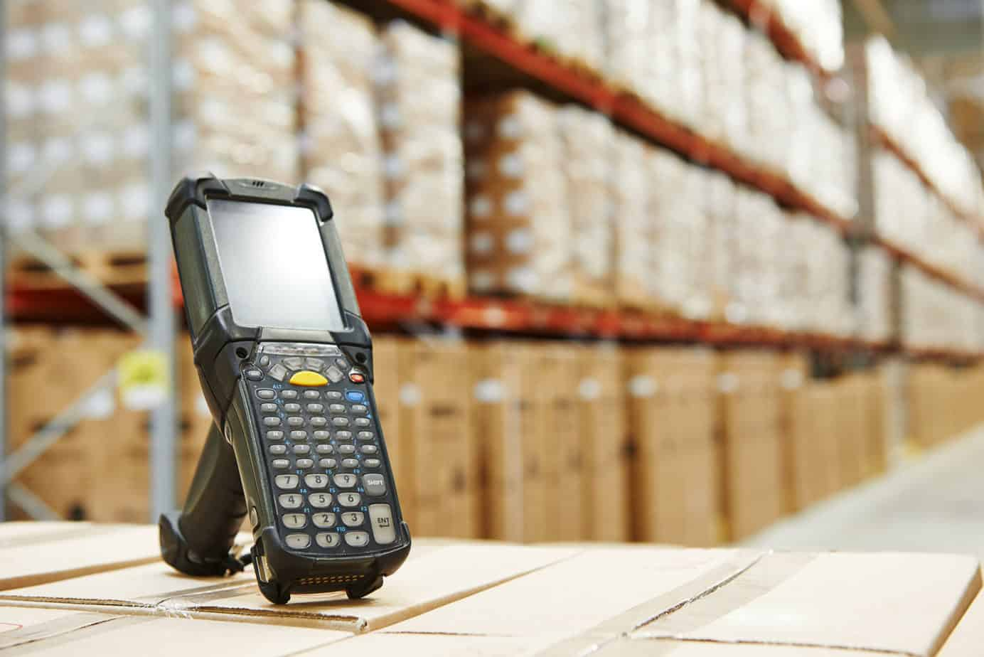wireless scanner for wireless warehouse scanning and barcoding